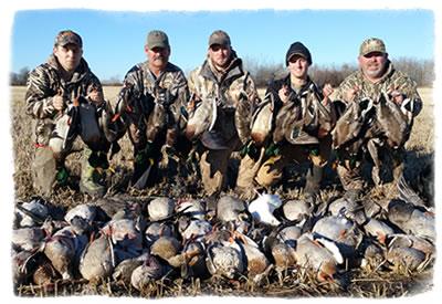 Saskatchewan Goose Hunting